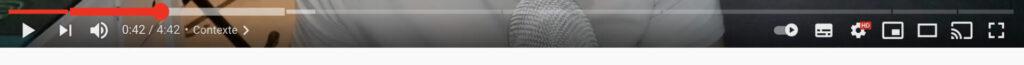 Illustration de la timeline Youtube creation singuliere agence de communication web digitale Honfleur Normandie
