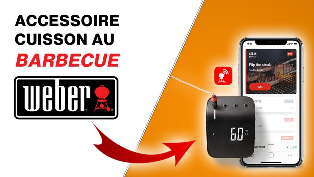 Miniature accessoire barbecue weber creation singuliere agence web digitale honfleur